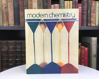 Modern Chemistry - Vintage Textbook - 1978 - College Class - Student Gift - Chemistry Book - Holt - Old Book - Vintage Book - Science Book
