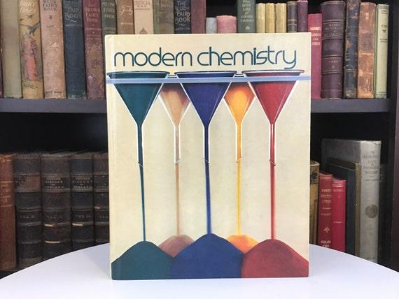 Modern Chemistry Classroom : Modern chemistry vintage textbook college class