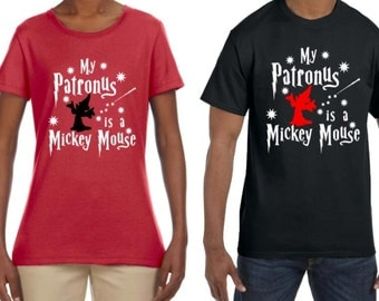 My Patronus is a Mickey Mouse Custom t-shirt Raglan Sweatshirt