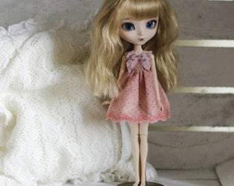 Pink cupcake lace dress