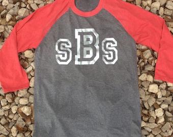 Baseball Raglan Monogram Shirt