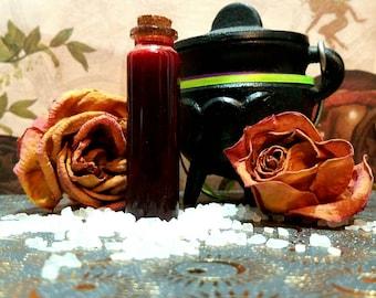 Ritual Blood - Herbal Vegan Blood Substitute for Rituals and Ink - Spellbook Ink