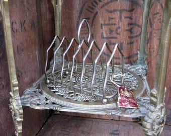 Vintage Toast Rack, Silver Toast Rack, Toast Holder, Breakfast Table, Afternoon Tea, Hotel Toast Rack, Downton Abbey, Vintage Silver