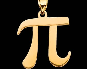 Pi Pendant Necklace 3.14 science math geek gift . Present for nerd . Math wiz . Mathlete winner. Gift for mathematician engineer scientist