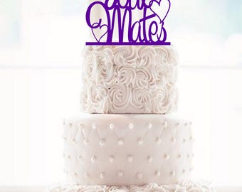 Soul mate Wedding Cake Topper Soul Mates Cake Topper soul mates topper rustic wedding country wedding elegant wedding marry wedding topp q50