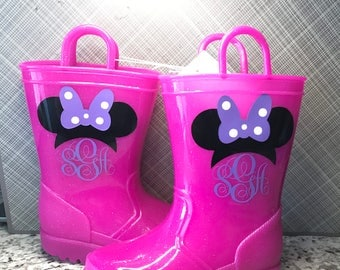 Personalized Toddler Rain Boots