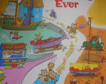 Funniest Storybook ever. Richard Scarry. Hardcover. 1972