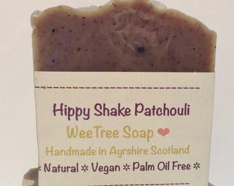 Patchouli Natural Handmade Vegan Soap Bar