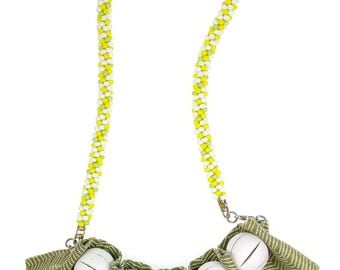 In the Limelight Seed Beads Necklace