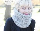 Knitting pattern / Knit Scarf Pattern / The Mira Mhór Cowl / Knit Pattern / PDF File / Instant Download