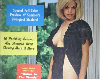FOLLIES, August 1966 Vol 10 No. 3. Retro Erotica magazine
