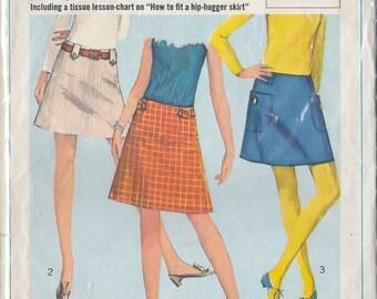 a line skirt pattern etsy
