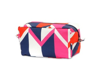Beau and Arrow Zipper Cosmetic Pouch, Monogrammed