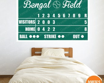 CUSTOMIZED Scoreboard For BASEBALL SOFTBALL And Other Sports Designs
