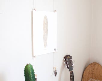 Photo Display - Driftwood // Print Display - Photo Hanger - Photo Holder - Wall Art