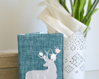 Business card wallet, coffee cards wallet, loyalty wallet, credit card wallet - Deer