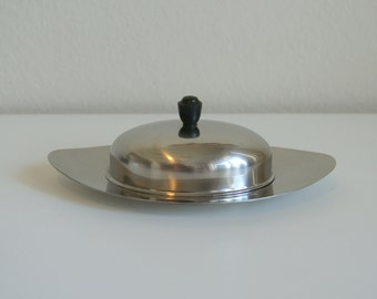 Stainless Steel Butter Dish by Eetrite.