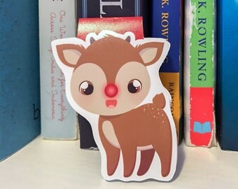 Rudolph The Red Nosed Reindeer  Magnetic Bookmark
