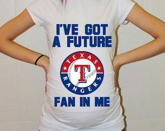 Texas Rangers Baby Texas Rangers Shirt Boy Baby Girl Maternity Shirt Maternity Clothing Pregnancy New Baby Shower