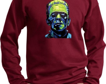 Men's Frankenstein Face Sweat Shirt 20719NBT2-PC90