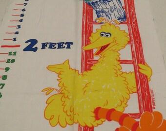 Vintage Sesame Street fabric