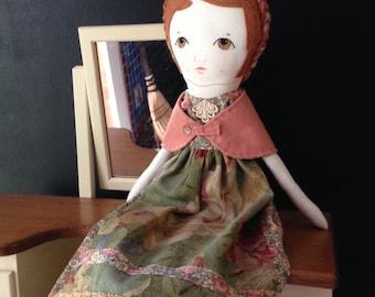 Spoon Rag Doll / Handmade Rag Doll / Fabric Dolls /Custom Made Cloth Dolls / Dolls / Spoon Ragdoll / Children's Toys / Stuffed Lovies