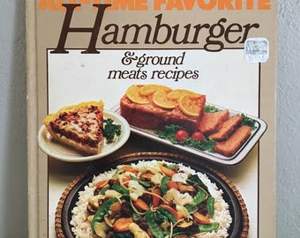Retro 1980s cookbook etsy Better homes amp gardens recipes