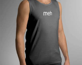 Meh Men's Tank Top