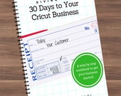 Book - Diving In: 30 Days to Your Cricut Business, Start a Business with Your Cricut Expression Explore Maker - Ebook - Guide