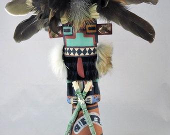 Traditional Style Hopi Pueblo Indian Hilili Kachina Doll