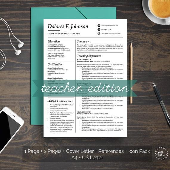 Teacher cv template ireland