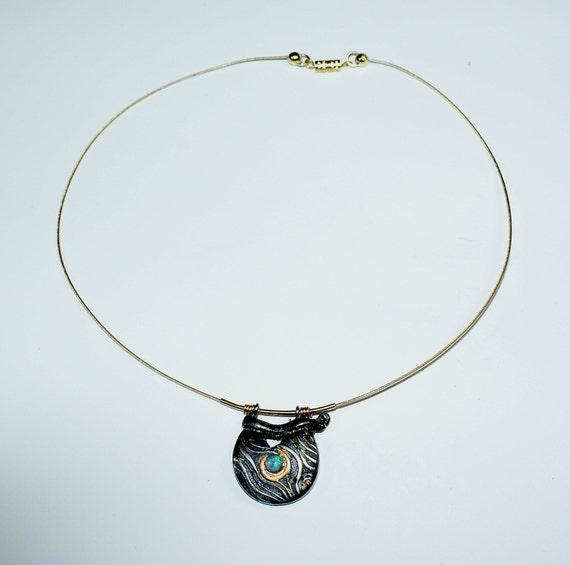 Opal pendant crystal Australia
