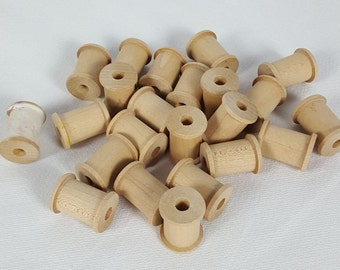 Bare Wood Spools  +  free shipping