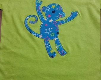 Kids toddler size monkey t-shirt