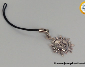 Cell phone charms - Sun