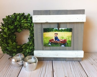 Wood Frame - Fathers Day Gift - Rustic Home Decor - Rustic Frame - Wall Art - Rustic Picture Frame -  Nursery Decor - Picture Frame - Frame