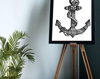 Anchor // Druck