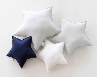 Small Star Cushion, Star Cushion, Star Pillow, Kids Pillow, Nursery Cushion, Kids Decor, Kids Room, Bedroom Cushion