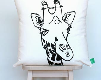 SALE | Cushion cover giraffe