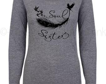 Soul Sister Shirt - Matching Shirts - Sister Tribe - Gifts for Sisters - Matching Outfits - Soul Sister Top - Soul Sister
