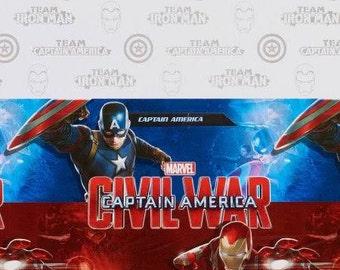 Captain America ''Civil War'' Plastic Table Cover