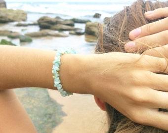 Amazonite Chips - Bracelet