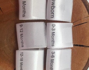 15mm Size labels