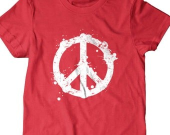 Peace T-shirt, Peace sign, Funny T shirt, gifts for dad, Shirt, Boyfriend, Husband,
