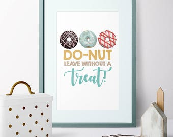 Donut Dessert Table Sign, Birthday Party Decor, Reception Sign, Wedding Dessert Bar | Instand Download Printable
