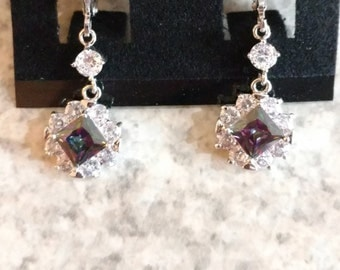 Mystic Topaz Earrings