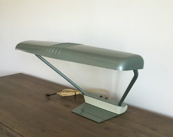 Vintage Dazor Model 2002 Desk Lamp; Dazor Lamp; Art Deco Lamp; Industrial Desk Lamp; Mid Century Lamp; Vintage Desk Light