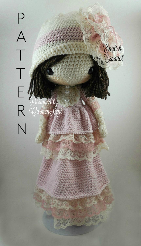 Crochet Amigurumi Doll Clothes : Dorle Amigurumi Doll Crochet Pattern PDF