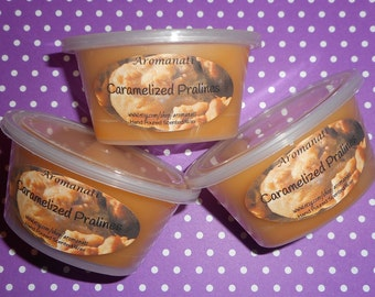 Caramelized Pralines - wax melts - wax shots - candle melts - tart melts - home fragrance - Buy 1 get 1 Free