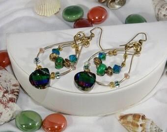 Swarovski Crystal Briolette Earrings